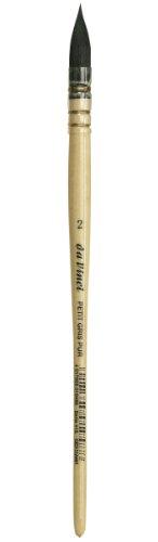 da Vinci Watercolor Serie 418 Petit Gris Pure Pinselpinsel Petit Gris Pur, französische Feder Size 2 - Petite-serie