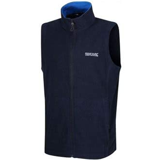 Regatta Great Outdoors Herren Outdoor Classics Bodywarmer/Gilet Tobias II (M) (Marineblau/Oxford Blau) Classic Fleece