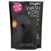 Dylon Wash & Dye Schwarz Dye Stoff groß 350g -