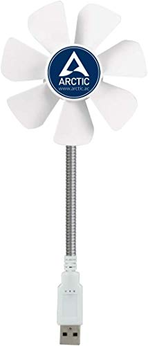Arctic Breeze Mobile Ventilateur Blanc