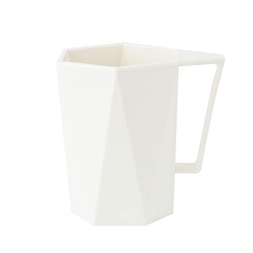 sse, Persönlichkeit Geometrie Paar Zahnbürste Tassen Zahnpastatasse Haushalt Wash Cup Büro Hotel Milchsaft Kaffee Tee Becher ()