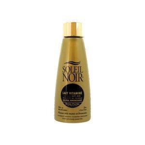 Soleil Noir Lait Vitaminé Ultra Bronzant Sans Filtre 150 ml
