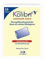 Preisvergleich Produktbild Kolibri comwash extra Waschhandschuh - unfoliert - PZN 01869881 - (50 Stück)