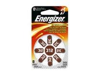 Energizer 6Stück je 8Batterien Hörgeräte Zink Air Turn & Lock N ° 312