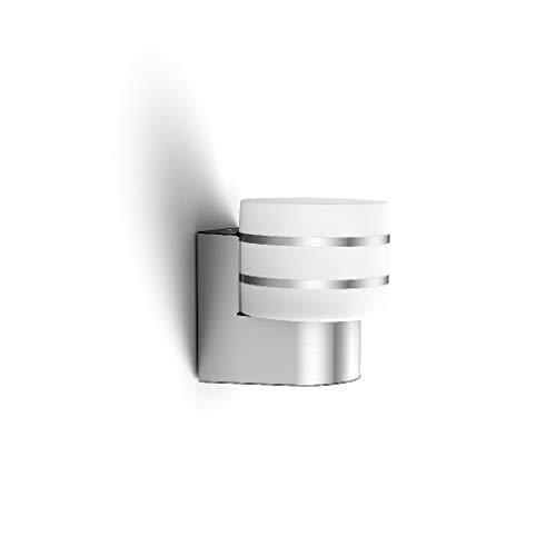 Philips Hue LED Wandleuchte Tuar für den Aussenbereich, dimmbar, warmweißes Licht, steuerbar via App, kompatibel mit Amazon Alexa (Echo, Echo Dot)