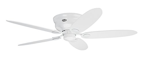 Hunter Fan 24377 Ventilador de techo, 75 W, 240 V, Blanco, 112...