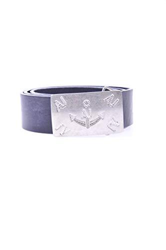 Armani Jeans ceinture homme en cuir placca vintage blu EU 85 C6124 D8 G8