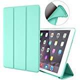 GOOJODOQ iPad Air 1 Hülle, iPad Air 1 PU Leder Etui Hülle Tasche mit Ständer Funktion und Eingebautem Magnet für Einschlaf/Aufwach Shockproof Silikon Weicher TPU Folio Hülle für Apple iPad Air 1