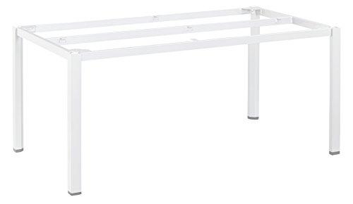 KETTLER Advantage Esstische Cubic-Tischgestell 160 x 95 cm, weiß