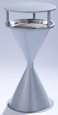 Cendrier en forme de quille - sans toit argent - bac à cendres cendrier cendrier en forme de quille cendrier sur pied cendriers collecteur de cendres Cendrier Cendrier sur pied Cendriers Cendriers sur