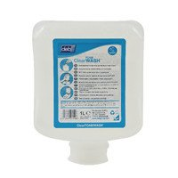 Deb CLR1L Refresh CLEAR Foam Wash Kartusche, 1 l (Pack von 6) -