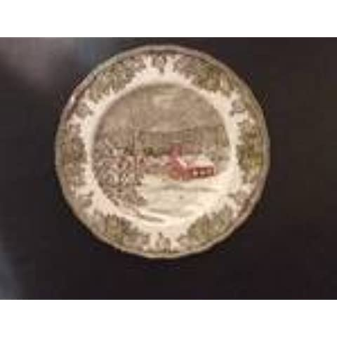 Johnson Brothers The Friendly Villiage School House Dinner Plate by Johnson Brothers