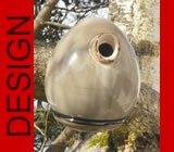 hochwertiges design Keramik Vogelhaus - Nistkasten -Tree Sand
