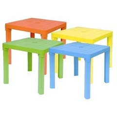 AURELIA DINO S.N.C. 273 - Tisch gelb Kunststoff
