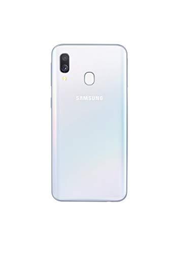 Samsung Galaxy A40 - Smartphone con memoria interna da 64 GB, RAM da 4 GB, Dual SIM, versione tedesca, colore: Bianco