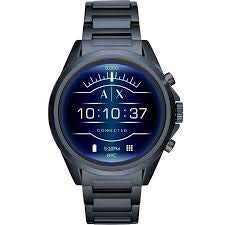 Armani Exchange Herren-Smartwatch mit Edelstahl Armband AXT2003