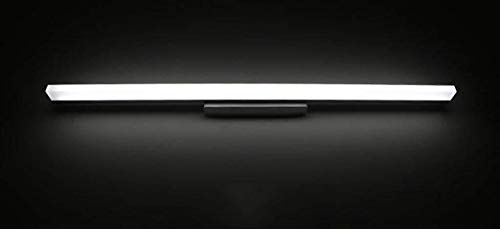 MTX Ltd Modernes minimalistisches Badezimmer-Kabinett-Badezimmer-Make-up Vanity Wash Washstand führte Spiegel-Lampe,Weißes Licht-90cm -