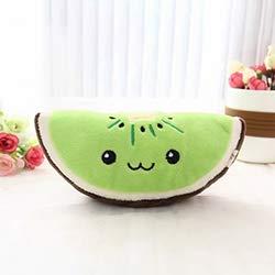 David Stuffed & Plush Plants . - Emoji Kawaii Plush Stuffed doll Kiwi/orange/Watermelon Toy Simulated Fruits Decorative 3D Pillow Kids Gift 6.6in Unisex Other - by 1 PCs