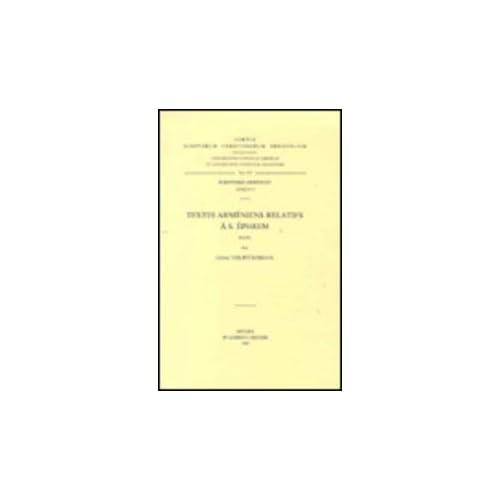 Textes Armeniens Relatifs a S. Ephrem. Arm. 15.