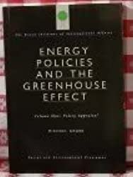 Energy Policies and the Greenhouse Effect: Policy Appraisal v. 1 (Energy and environmental programme) by Michael Grubb (1991-12-19)