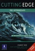 Cutting Edge Pre-Intermediate Student's Book. German Edition: Mit Miniwörterbuch Englisch - Deutsch (Cutting Edge Pre-intermediate)