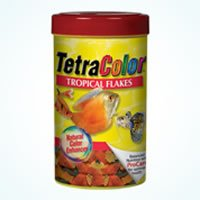 Tropical Fish Food Tetracolortm Tropical Flakes 18gm from Petbliss