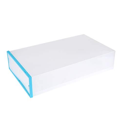 Transparent Kofferraum Kniehoher Stiefel Aufbewahrungsbox Verdickte Kunststoff stapelbar Schuh Box für Closet Organizer -