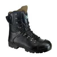 Rock Fall Chatsworth Class 3 Chainsaw Kevlar Safety Boots with Midsole - RF328 - Black