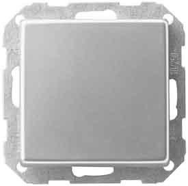 Gira Blindabdeckung EDS 026820 Edelstahl E22 Einsatz/Abdeckung für Kommunikationstechnik 4010337268208