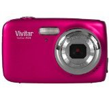 Compact Digital Camera Vivitar F126 14 Megapixel High Resolution Images (14MP, 4x Zoom, 1.8