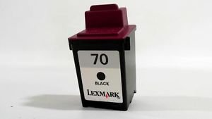 Lexmark 12AX970E 70 Tintenpatrone, 22ml 600 Seiten, schwarz -
