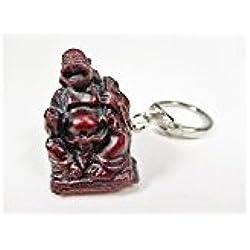 Llavero Happy Buda 9cm suerte Buda China Monje Figura decorativa gdet 3B