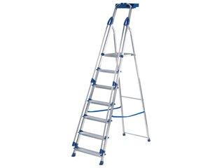Blue Seal Platform Stepladders - 7 Tread