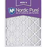 x 1 m8-6 Merv 8 Bundfaltenhose AC Ofen Air Filter, 14 x 20 x 1, Box Of 6, Nordic Pure ()