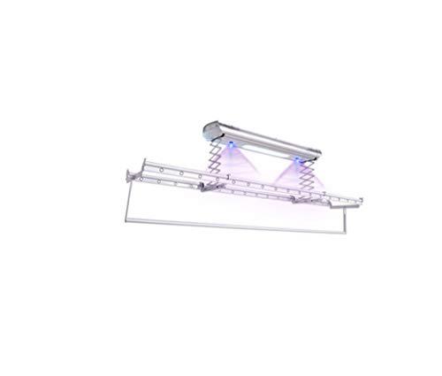 LHFJ Elektrischer Wäsche-Trockengestell-Decken-Wäscheleine-anhebendes System kleidet Trockengestell mit LED-Beleuchtungs-UV-Sterilisations-Fernbedienung -