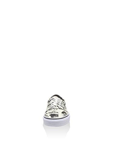Vans Era Unisex-Erwachsene Sneakers Weiß (bianco)