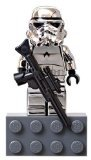 LEGO Star Wars: Argent Chromé Stormtrooper Aimant Mini-Figurine