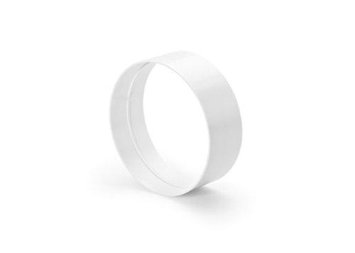 Naber R-VBS 150 Rohrverbinder round, weiß