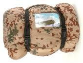 Extra warmer doppellagiger Pilot Schlafsack wasserabweisend Camping Outdoor in verschiedenen Farben (Tropentarn) (Jagd-shirt Moleskin)