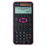 Sharp Schulrechner EL-W531 XG PK wissenschaftlich pink