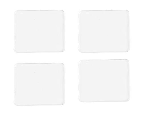 StikkGel: Multifunktionale Gel Pads / Antirutschmatte   Rutschfeste PREMIUM-Klebepads aus Silikon für zu Hause & im Auto   Handyhalter Klebepad   Gel Pad für Kamera, Lautsprecher & Handy (Kamera Wand Klebt)