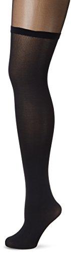 Fiore Damen Feinstrumpfhose MIGUELA/GOLDEN LINE CLASSIC Strumpfhose, 40 DEN, Schwarz (Black 001), Large (Herstellergröße:4)