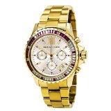 Michael Kors MK5871 - Reloj con correa de acero y caucho para mujer, color dorado / gris