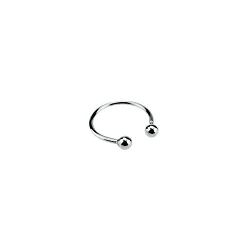 butt plugHerrenspielzeug, doppelter Perlenring aus Edelstahl, Ring mit Zeitverzögerung, Verschlussring, silberner Edelstahl, verschiedene Größen, vertrauliche Lieferung-40