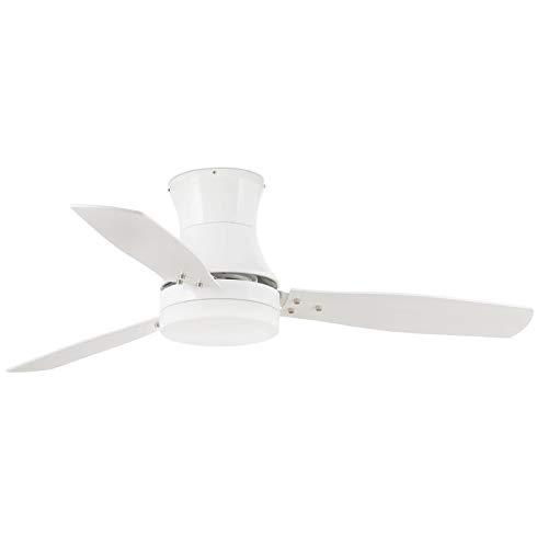 Faro 33384 - Tonsay Ventilador de techo luz Blanco 3 palas diametro 1320 con mando a distancia