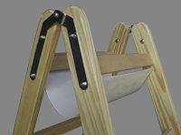 ff / fischer fachhandel Werkzeugtasche für Holzstehleitern