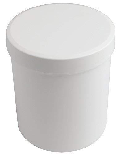 Salbendosen 10 Stück Schraubdosen aus weißem Kunststoff Medi-Inn verschiedene Größen (25 ml)