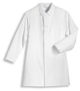 Uvex Whitewear Arbeitsmantel für Herren 89324 - Langer Arbeitskittel aus 35% Baumwolle - Verwendung...
