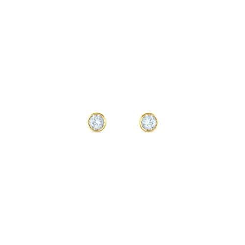 Stroili Orecchini in Oro Giallo 9 kt e Zirconi Bon Ton Referenza 1401772