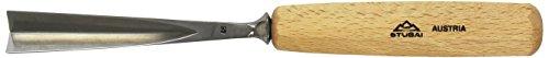 Stubai 554520 Couteau à Sculpteur, Gris/Beige, 20 mm